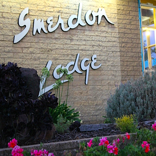 Smerdon Lodge Sign
